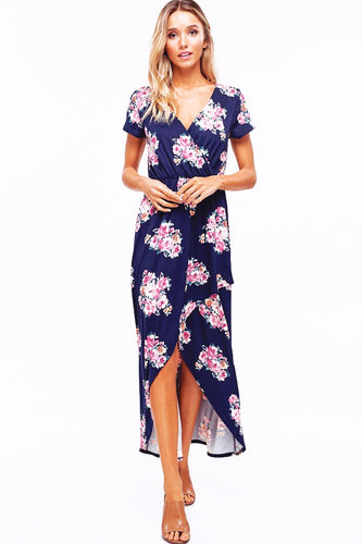 SHE'S ALL THAT FLORAL DRESS