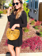 BLOGGER BABE BAMBOO CLUTCH