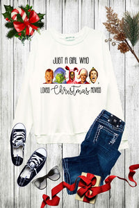 FAVORITE CHRISTMAS MOVIE PULLOVER