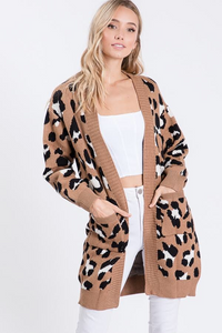 WELCOME TO THE JUNGLE CARDIGAN