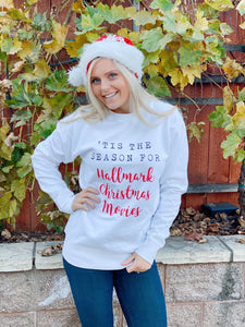 HALLMARK CHRISTMAS MOVIE PULLOVER