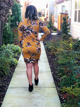 ANNABELLE FLORAL SIDE SHIRRING DRESS