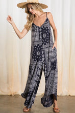 FUN IN THE SUN CAMI JUMPSUIT-NAVY