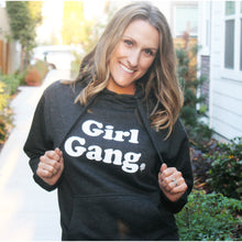 GIRL GANG HOODED PULLOVER