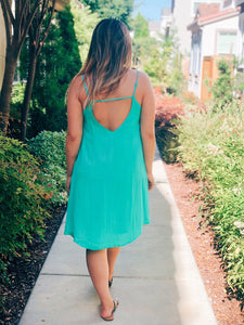 SUMMER DREAM SLIP DRESS