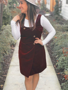 JENA CORDUROY DRESS