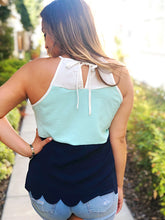 SMITTEN COLOR BLOCK TOP