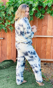 SWEET LOVELY TIE-DYE JOGGERS