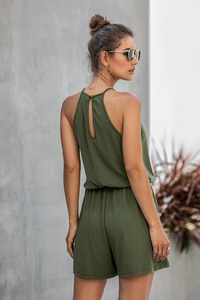 SADIE POCKETED ROMPER