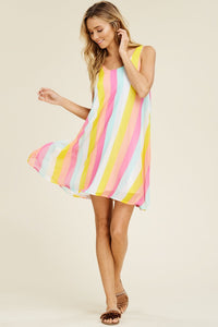 JUMP FOR JOY TASSEL TIE DRESS