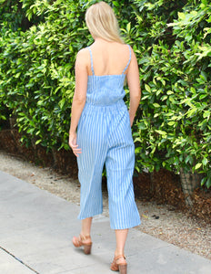 MARJORIE STRIPPED JUMP SUIT
