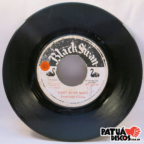 Sonny And Yvonne / Sonny Durke Group - Night After Night / Here We Go Again - 7""