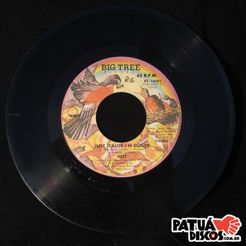 Hot - Just Cause I'm Guilty / Angel In Your Arms - 7""