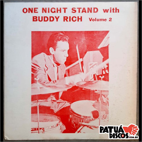 Buddy Rich - One Night Stand With Buddy Rich Volume 2 - LP