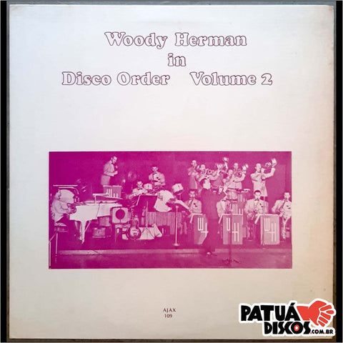 Woody Herman - Woody Herman In Disco Order Volume 2 - LP