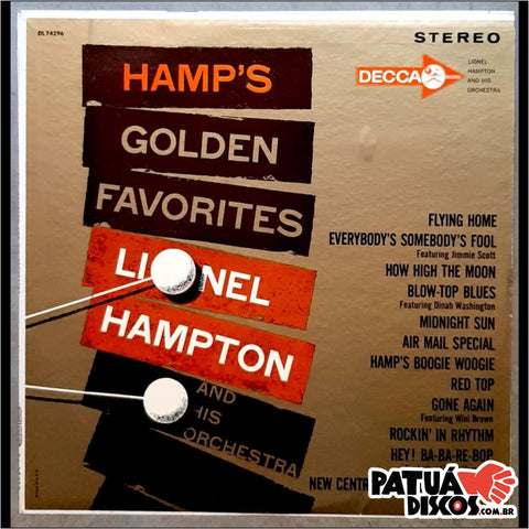 Lionel Hampton And His Orchestra - Hamp's Golden Favorites