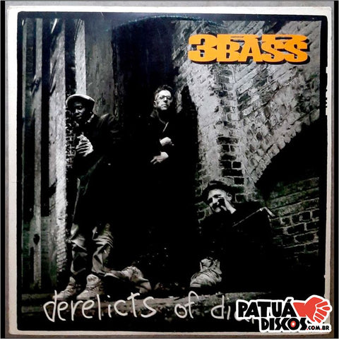 3rd Bass - Derelicts Of Dialect - LP