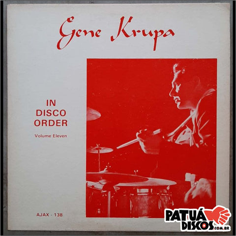 Gene Krupa - In Disco Order Volume Eleven - LP