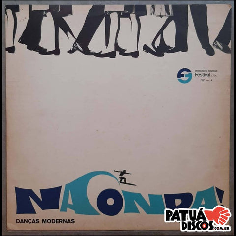 The Invisibles - Na Onda... Danças Modernas - LP