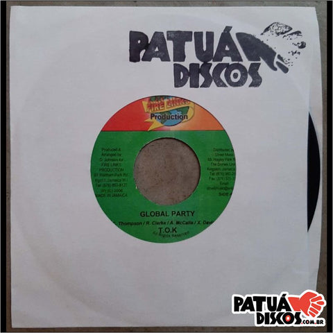 T.O.K. - Global Party / Global Riddim - 7""