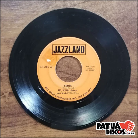 Les Spann - Smile/Blues For Gemini - 7""