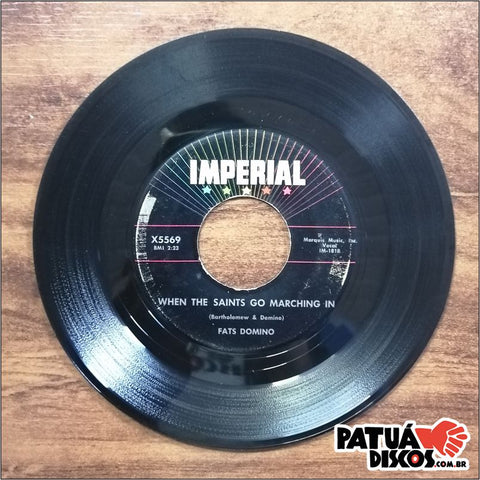 Fats Domino - Telling Lies / When The Saints Go Marching In - 7""