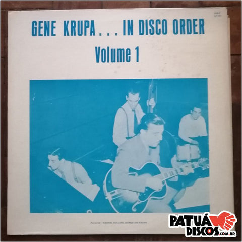 Gene Krupa - In Disco Order Volume 1 - LP