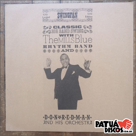 Don Redman And His Orchestra - Classic Big Band Swing - LP