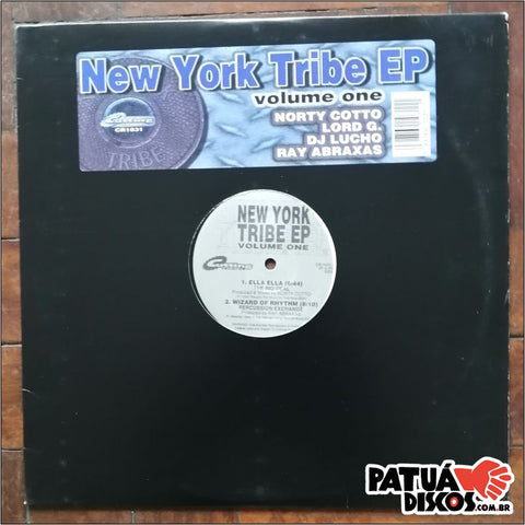 Vários Artistas - New York Tribe EP (Volume One) - 12""