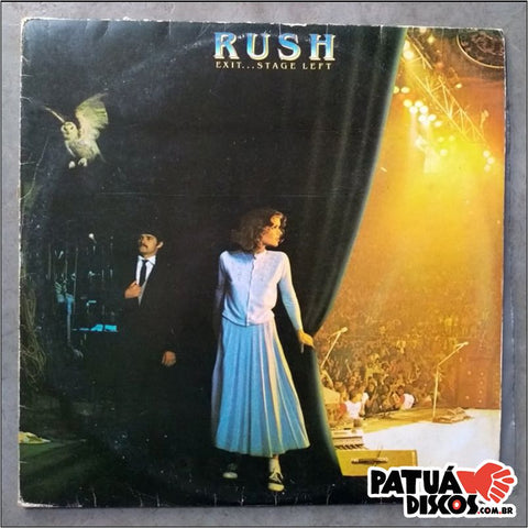 Rush - Exit... Stage Left - LP