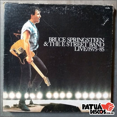 Bruce Springsteen & The Street Band - Live/ 1975-85 - LP