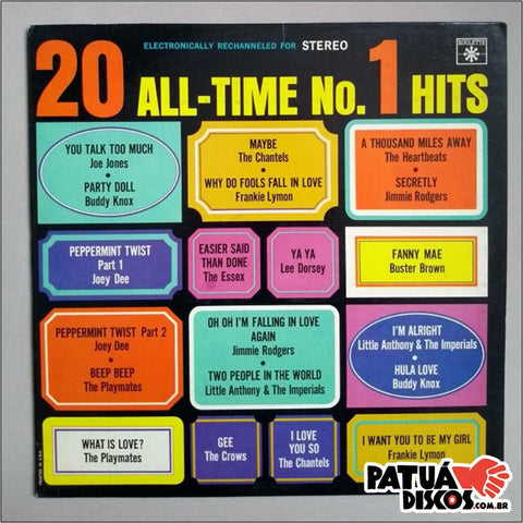 Vários Artistas - 20 All Time Number One Hits - LP