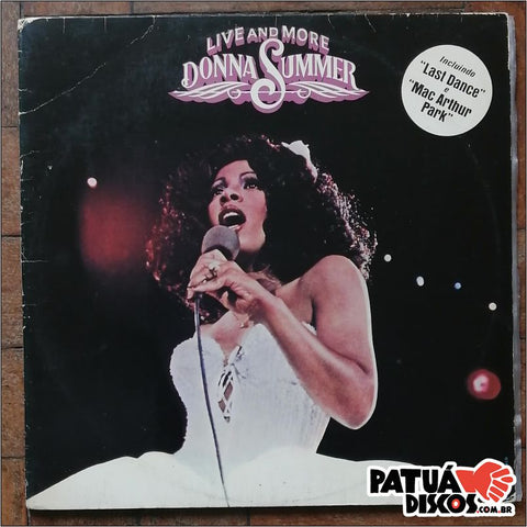 Donna Summer - Live and More Donna Summer - LP