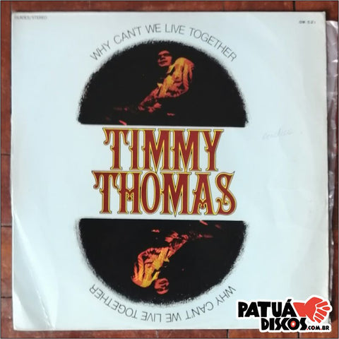 Timmy Thomas - Why Can't We Live Together - LP
