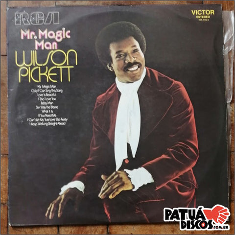 Wilson Pickett - Mr. Magic Man - LP