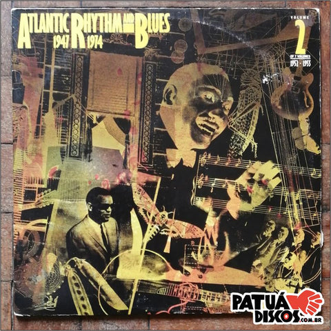 Vários artistas. - Atlantic Rhythm & Blues 1947-1974 (Volume 2 1952-1955) - LP