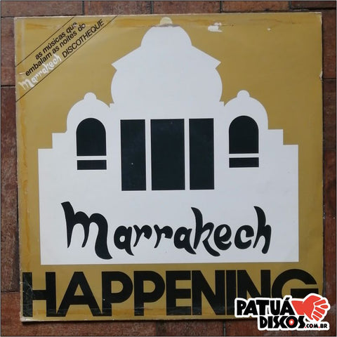 Vários artistas. - Marrakesh Happening Discotheque - LP