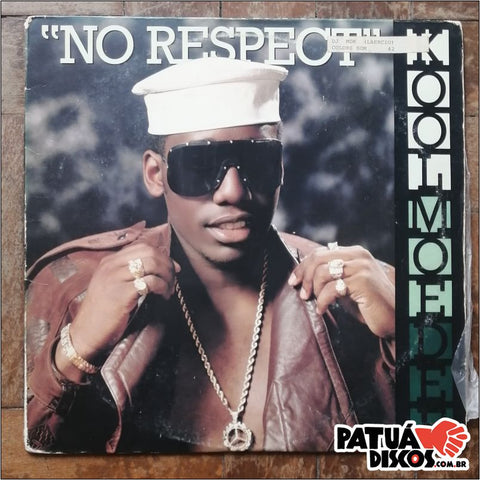 Kool Moe Dee - No Respect - 12""