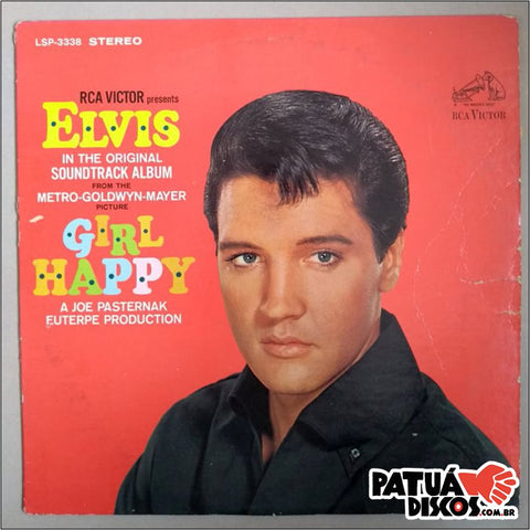 Elvis Presley - Girl Happy - LP