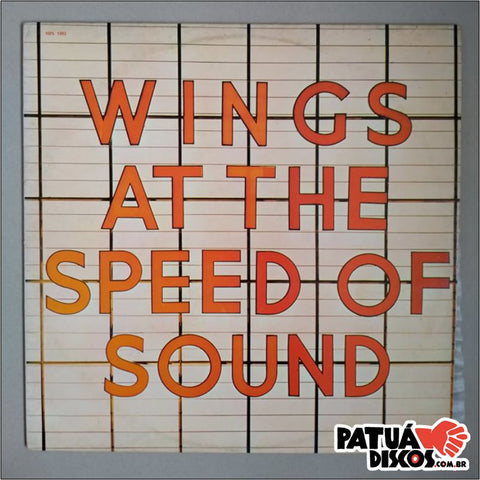 Wings - Wings At The Speed Of Sound - LP