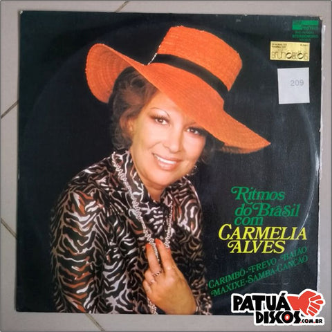 Carmelia Alves - Ritmos do Brasil - LP