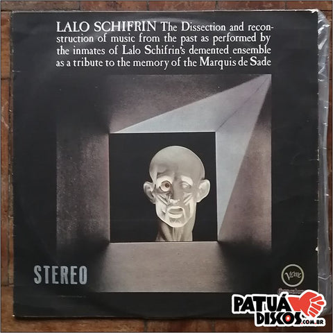 Lalo Schifrin - The Dissection And Reconstruction Of Music From The Past As Performed By The Inmates Of Lalo Schifrin's Demented Ensemble As A Tribute To The Memory Of The Marquis De Sade - LP