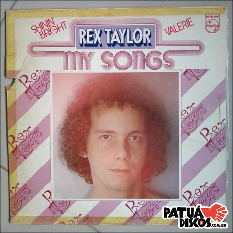 Rex Taylor - My Songs - LP