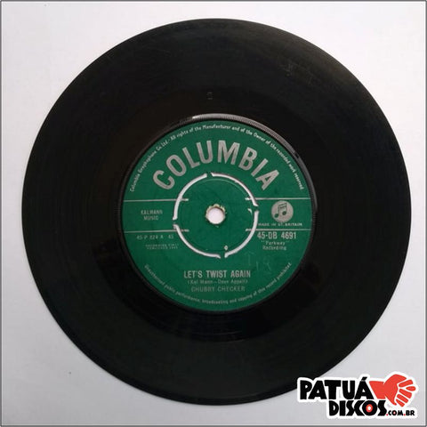 Chubby Checker - Let's Twist Again - 7""