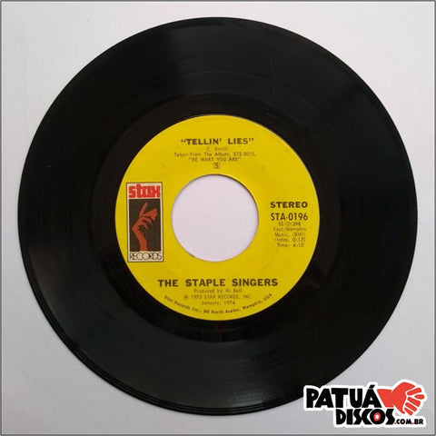 The Staple Singers - Touch A Hand, Make A Friend / Tellin' Lies - 7""