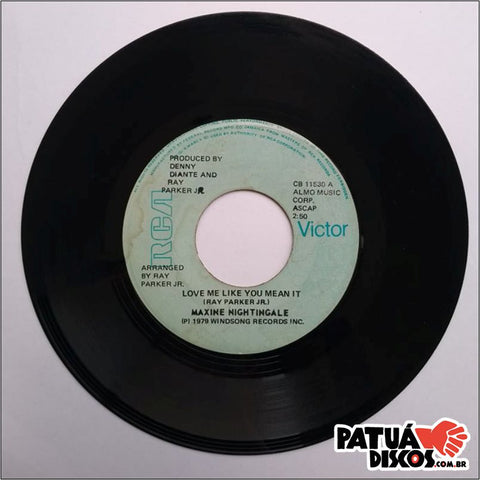 Maxine Nightingale - Lead Me On / Love Me Like You Mean It - 7""