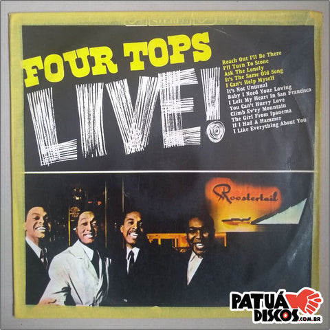 Four Tops - Four Tops Live! - LP
