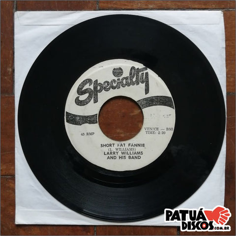 Larry Williams - Short Fat Fannie - 7""