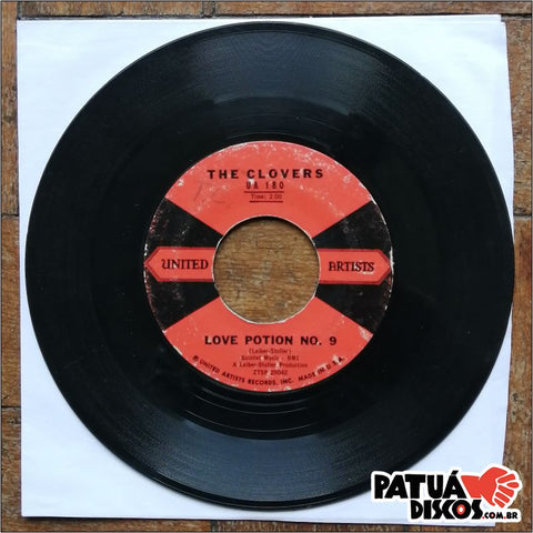 The Clovers - Love Potion No. 9 - 7""