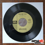 April Stevens With Don Ralke And His Orchestra - Teach Me Tiger / That Warm Afternoon - 7""
